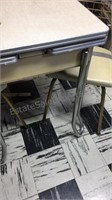 Vintage Dining Table W/ Two Chairs