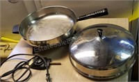 Farberware Stainless Steel Frying Pan Electric