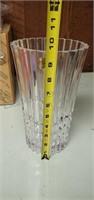 Vintage JG Durand Crystal Vase