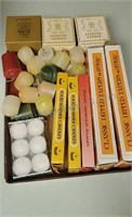 Assorted Candle Lot