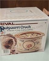 Vintage Potpourri Crock