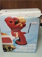 Vintage Hand Crank Food Processor
