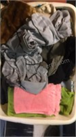 3 Baskets of cloths & Towels Mystery