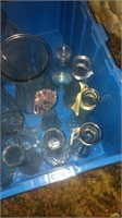 Lot of Glass Vases