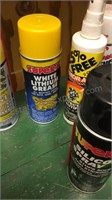 Lot of Car Clwaners & Lubes