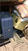 Huge lot of Vintage Hard Luggage