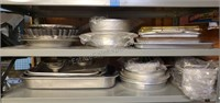 Pans, Trays, Serving Dish Lot