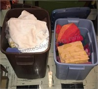 Totes of Towels