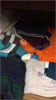 Shelf of Men's Shirts