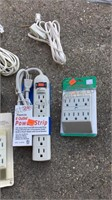 Lot of Cords & Outlet Adapters