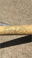 Collection of Wood Baseball Bats