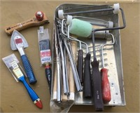 Paint Brushes, Rollers, More