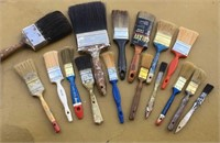 Lot of Paint Brushes
