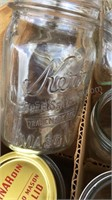 Lot of Canning Jars