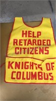 Vintage Knights of Columbus Aprons