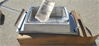 Vintage Jenn-Air Aluminum French Fryer Stove Top