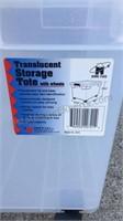 Plastic Hangers & Storage  Tote