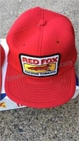 Vintage Red Fox Chewing Tobacco Hats