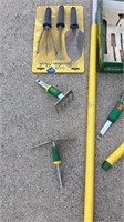 Lot of Garden Tools