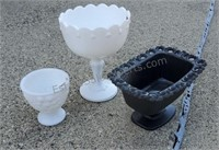 Glass Compotes / Bowls