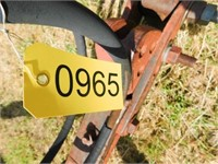 """Krause 16' chisel (8"""" shovels) with drag harrow"""