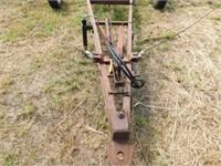 Noble 30' tri-fold cable cultivator w/harrow,