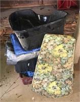 Tarps And Litter Box