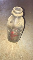 Pearman Dairy Crate And Bottles