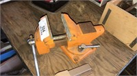 Table Vise And Stapler