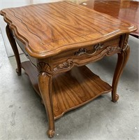 333 - SOLID WOOD COFFEE & END TABLE