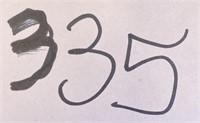 335 - GREEN MILITARY DUFFEL BAG/BACKPACK
