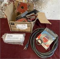 26 - BOX OF MAGNETS;PLUG & GENIE WIRELESS KEYPAD