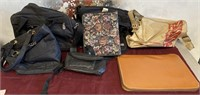 335 - LOT OF MIXED BAGS & ORGANIZER