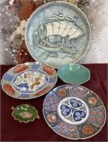 11 - LOT OF BEAUTIFUL ASIAN PLATES & BOWL