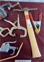 26 - LOT OF CLAMPS & MORE - SEE PICS