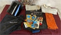 26 - WELDING MASK;GLOVES & TOOLS - SEE PICS