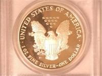 1990 American Eagle, Silver 1 Dollar Proof