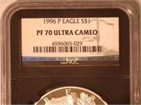 1996 American Eagle, Silver 1 Dollar Proof