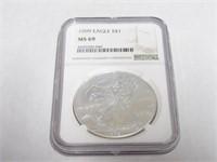 1999 American Eagle, Silver 1 Dollar