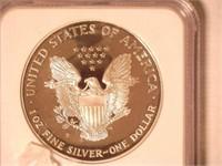 1998 American Eagle, Silver 1 Dollar Proof
