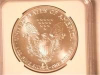 1990 American Eagle, Silver 1 Dollar