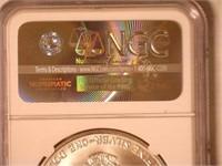 1992 American Eagle, Silver 1 Dollar