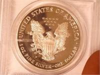 2000 American Eagle, Silver 1 Dollar Proof
