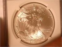 2000 American Eagle, Silver 1 Dollar