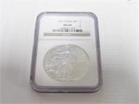 2001 American Eagle, Silver 1 Dollar