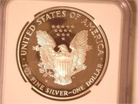 2001 American Eagle, Silver 1 Dollar Proof
