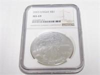 2003 American Eagle, Silver 1 Dollar