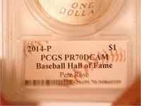 2014 Comm. Silver National Baseball Hall of Fame,