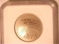 2014 Comm. Silver, Baseball Hall of Fame