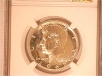 1965 Kennedy 50 Cents SMS